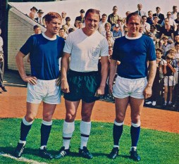 Alan Ball and Ray Wilson, Everton 1966