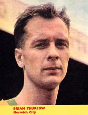 Brian Thurlow, Norwich 1961
