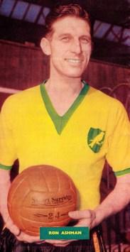 Ron Ashman, Norwich 1959