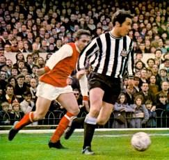 Arsenal v Newcastle, 1971
