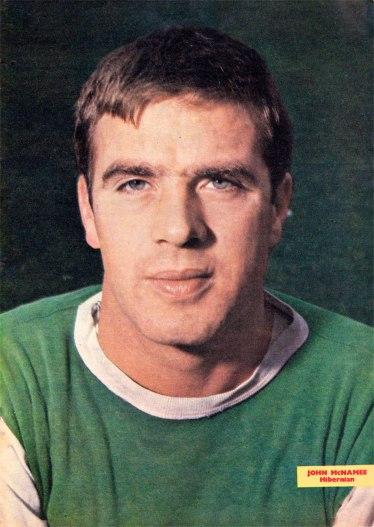 John McNamee, Hibernian 1966