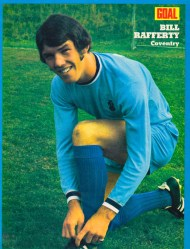 Bill Rafferty, Coventry City 1972