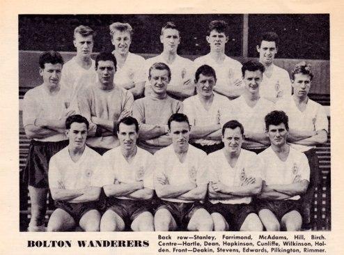 Bolton Wanderers 1962