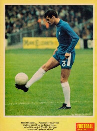 Eddie McCreadie, Chelsea 1968