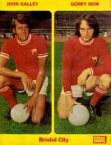 Galley & Gow, Bristol City 1972