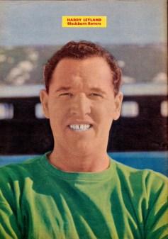 Harry Leyland, Blackburn Rovers 1960