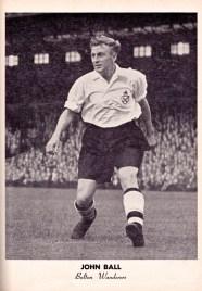 John Ball, Bolton Wanderers 1951