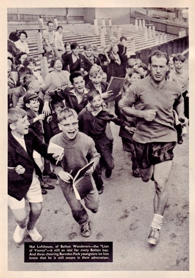 Nat Lofthouse, Bolton Wanderers 1960