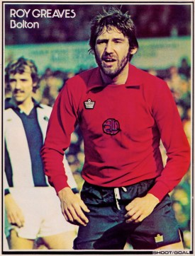Roy Greaves, Bolton Wanderers 1976