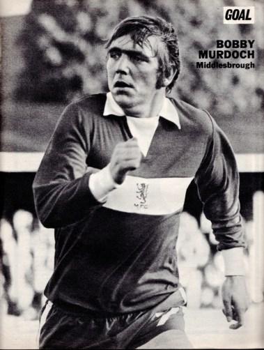 Bobby Murdoch, Middlesbrough 1973