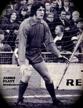 Jim Platt, Middlesbrough 1972