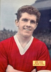 Johnny Giles, Man United 1960