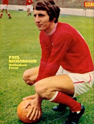 Paul Richardson, Nottingham Forest 1970