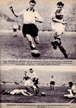 Motherwell v Dundee, Scottish Cup Final 1952