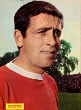 Shay Brennan, Man United 1966