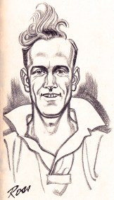 Billy Wright illustration