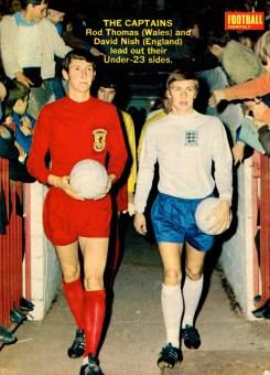 David Nish, England U23 1969