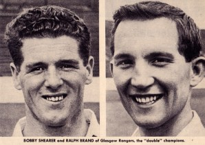 Shearer and Brand, Rangers 1963