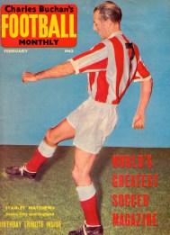Stanley Mathews, Stoke City 1962
