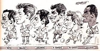 Brazil 1958 World Cup squad cartoons-2