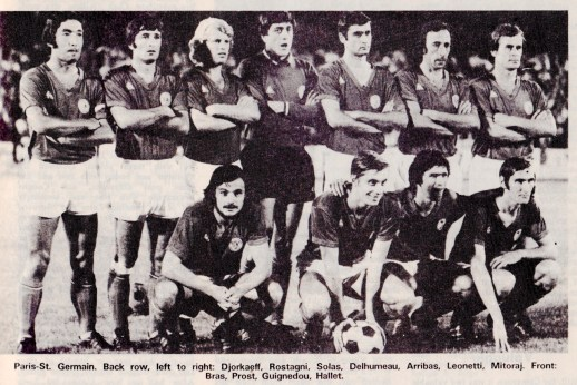 Paris St.Germain 1972
