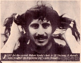 Ruben Ayala, 1974