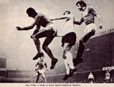 Derby Country v Zeljeznicar Sarajevo 1972