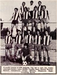 OFK Belgrade 1973