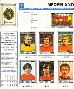 World Cup 1978 Netherlands 1