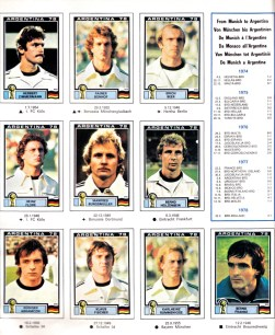 World Cup 1978 West Germany 2