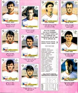 World Cup 1990 Czechoslovakia 2