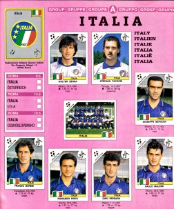 World Cup 1990 Italy 1