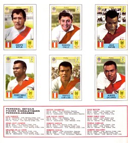 World Cup 70 Peru 2