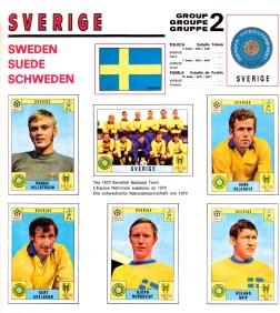 World Cup 70 Sweden 1