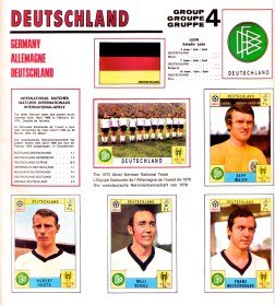 World Cup 70 West Germany 1