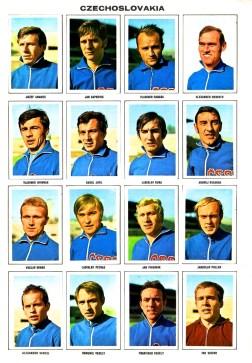 World Cup 1970 FKS Album: Czechoslovakia
