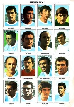 World Cup 1970 FKS Album: Uruguay