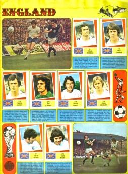 World Cup 1978 FKS Album: England