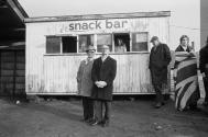 Halifax Town FC. Spectators watching the game. 1975 (Martin Parr)