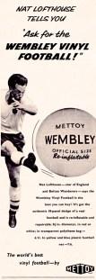 Nat Lofthouse, Wembley vinyl ball 1959