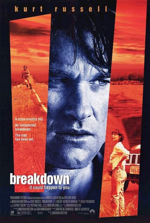 Image result for BREAKDOWN ( 1997 ) POSTER