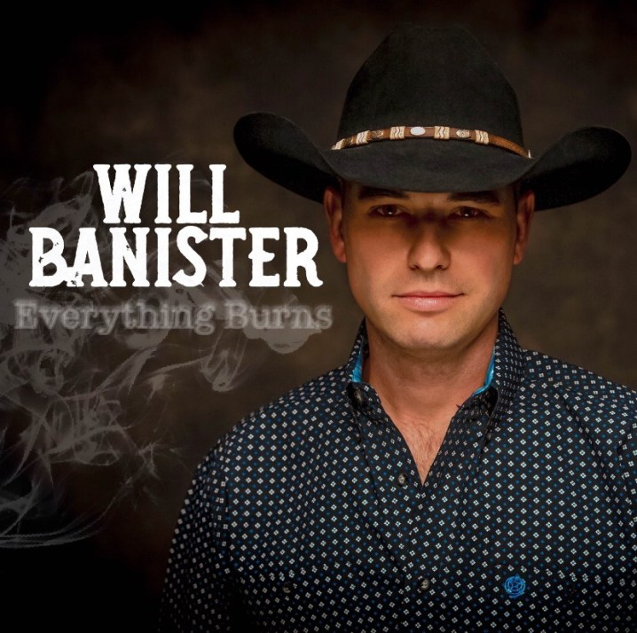 Will Banister - Everything Burns Album Cover