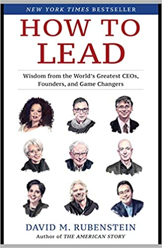 """Billionaire philanthropist David Rubenstein author of """"How to Lead"""" talks about his book patriotic philanthropy and repairing a broken America when he goes Beyond the Mic."""
