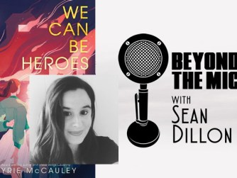 Beyond the Mic logo We Can Be Heroes Book Kyrie McCauley Photograph