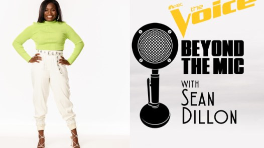 Janora Brown The Voice and Beyond the Mic logos