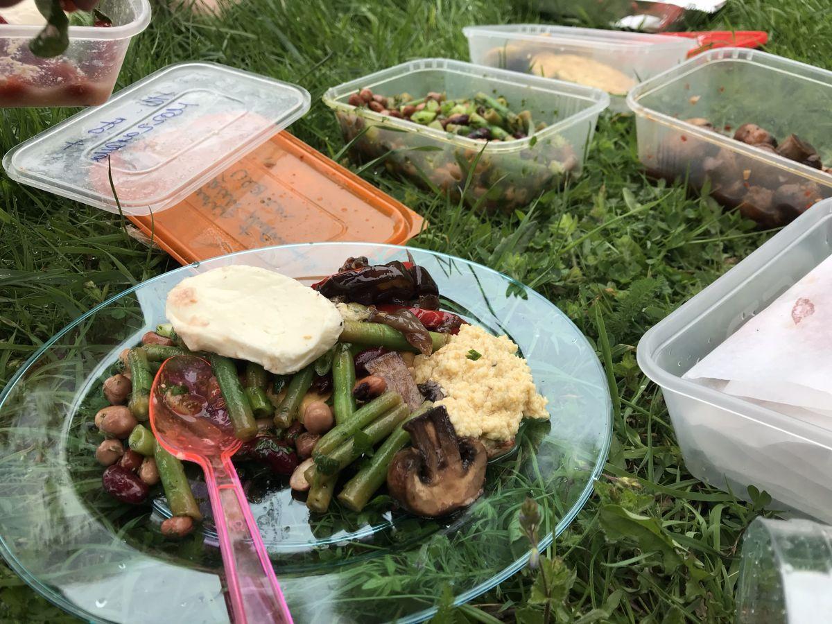 mountain bike retreat healthy eating