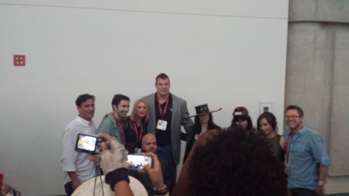 The panelists and filmmakers