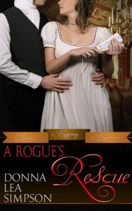 """""""A Rogue's Rescue"""" Donna Lea Simpson"""
