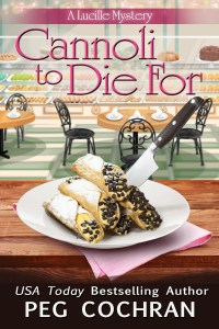 """Cannoli to Die For"" Peg Cochran"