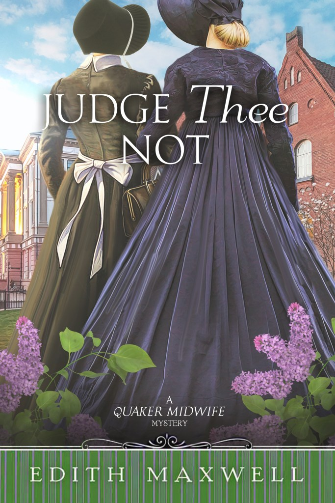 """""""Judge Thee Not"""" Edith Maxwell"""